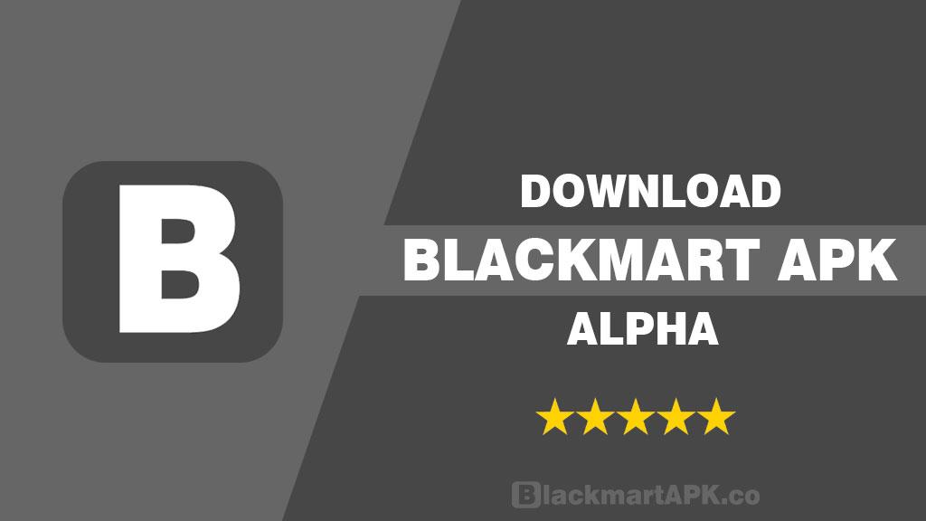 BlackMart APK Alpha